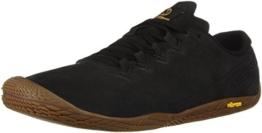 Merrell Damen Vapor Glove 3 Luna Leather Sneaker, Schwarz (Black Black), 38.5 EU - 1
