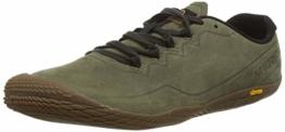 Merrell Herren Vapor Glove 3 Luna Leather Sneaker, Grün (Dusty Olive), 43.5 EU - 1