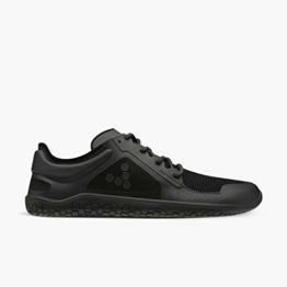 Vivobarefoot Primus Lite Ii Recycelter, veganer, leichter Bewegungsablauf, atmungsaktiver Schuh mit Barfußsohle, Schwarz (Obsidian), 38.5 EU - 1